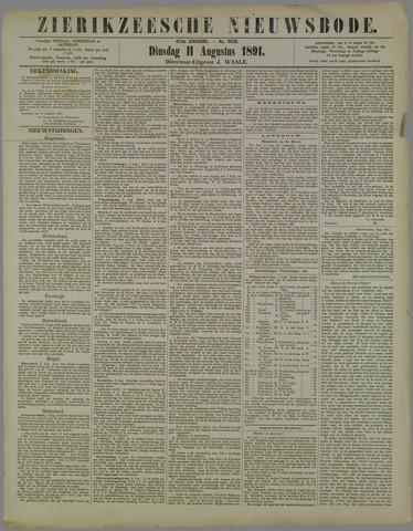 Zierikzeesche Nieuwsbode 1891-08-11