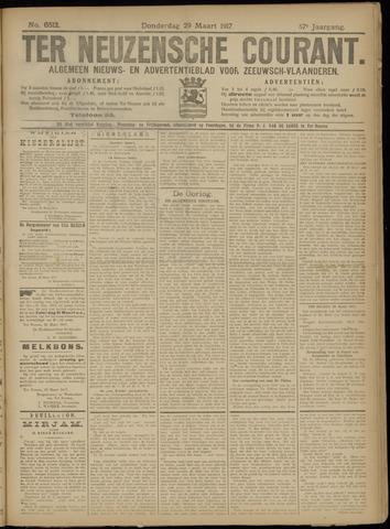 Ter Neuzensche Courant. Algemeen Nieuws- en Advertentieblad voor Zeeuwsch-Vlaanderen / Neuzensche Courant ... (idem) / (Algemeen) nieuws en advertentieblad voor Zeeuwsch-Vlaanderen 1917-03-29