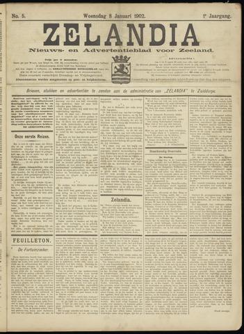 Zelandia. Nieuws-en advertentieblad voor Zeeland | edities: Het Land van Hulst en De Vier Ambachten 1902-01-08