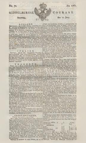 Middelburgsche Courant 1762-06-12