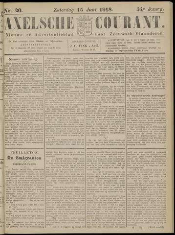 Axelsche Courant 1918-06-15