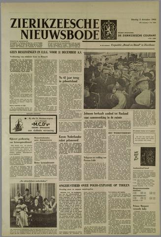 Zierikzeesche Nieuwsbode 1963-12-03