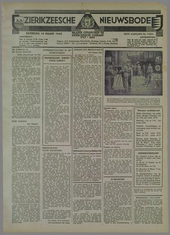 Zierikzeesche Nieuwsbode 1942-03-14