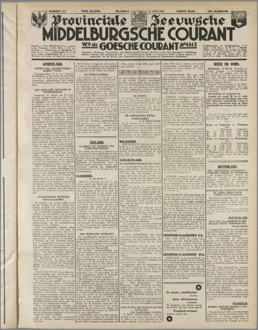 Middelburgsche Courant 1936-07-27