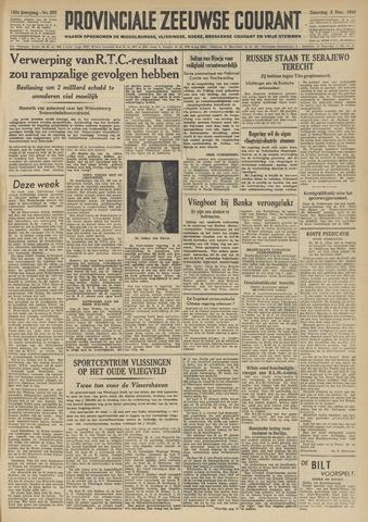 Provinciale Zeeuwse Courant 1949-12-03