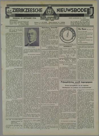 Zierikzeesche Nieuwsbode 1936-09-29