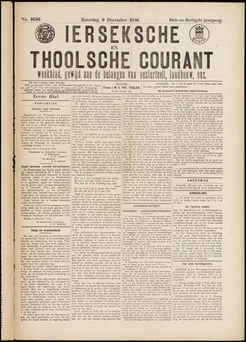 Ierseksche en Thoolsche Courant 1916-12-09