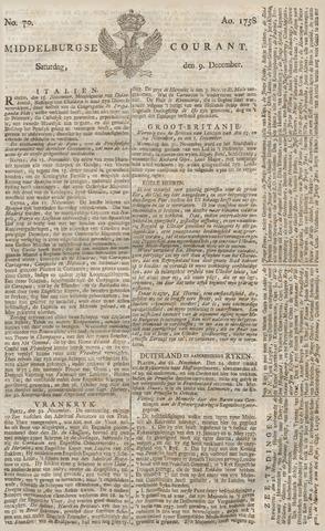 Middelburgsche Courant 1758-12-09