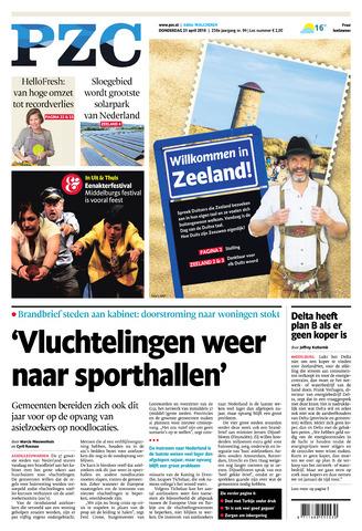Provinciale Zeeuwse Courant 2016-04-21