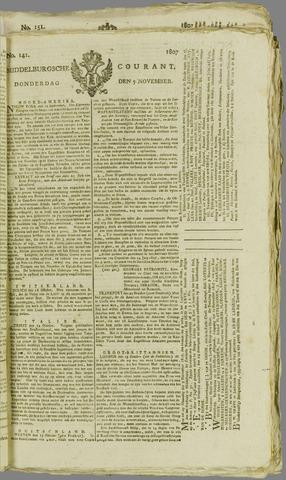 Middelburgsche Courant 1807-11-05
