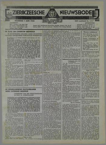 Zierikzeesche Nieuwsbode 1942-06-01