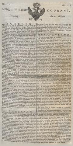 Middelburgsche Courant 1776-10-22