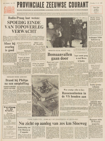 Provinciale Zeeuwse Courant 1968-07-31