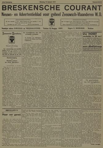 Breskensche Courant 1937-01-12