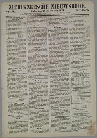 Zierikzeesche Nieuwsbode 1874-02-28