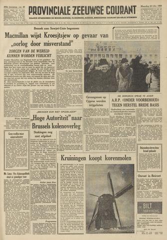 Provinciale Zeeuwse Courant 1959-02-23