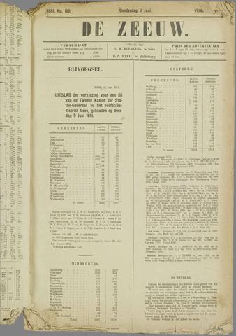 De Zeeuw. Christelijk-historisch nieuwsblad voor Zeeland 1891-06-11