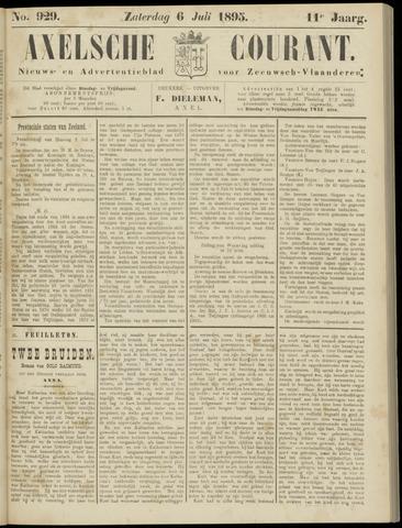 Axelsche Courant 1895-07-06