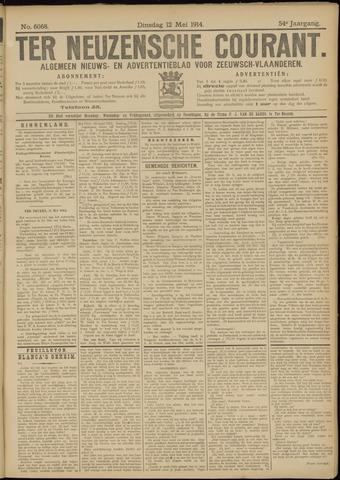 Ter Neuzensche Courant. Algemeen Nieuws- en Advertentieblad voor Zeeuwsch-Vlaanderen / Neuzensche Courant ... (idem) / (Algemeen) nieuws en advertentieblad voor Zeeuwsch-Vlaanderen 1914-05-12