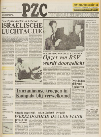 Provinciale Zeeuwse Courant 1979-04-11