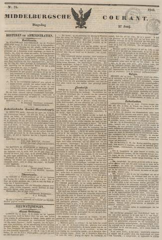 Middelburgsche Courant 1843-06-27