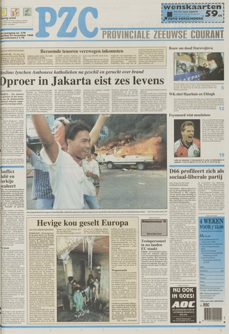 Provinciale Zeeuwse Courant 1998-11-23