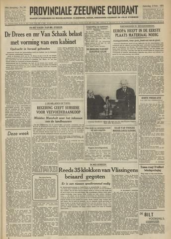 Provinciale Zeeuwse Courant 1951-02-03