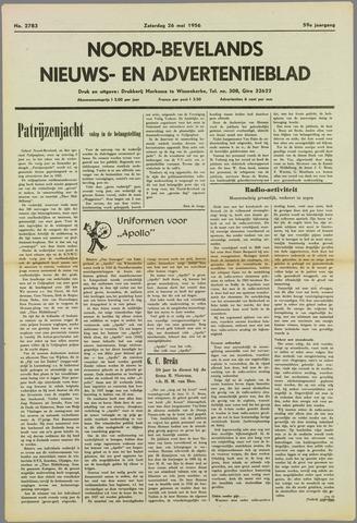 Noord-Bevelands Nieuws- en advertentieblad 1956-05-26