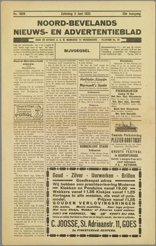 Noord-Bevelands Nieuws- en advertentieblad 1933-06-03