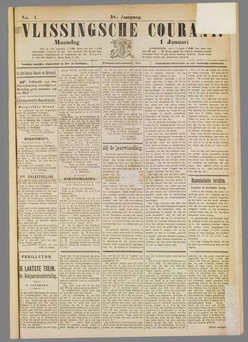 Vlissingse Courant 1900