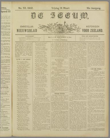 De Zeeuw. Christelijk-historisch nieuwsblad voor Zeeland 1902-03-14