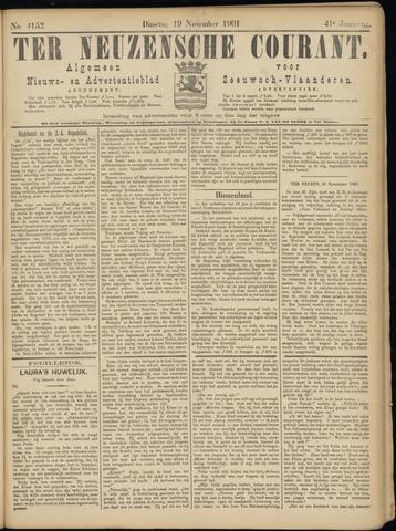 Ter Neuzensche Courant. Algemeen Nieuws- en Advertentieblad voor Zeeuwsch-Vlaanderen / Neuzensche Courant ... (idem) / (Algemeen) nieuws en advertentieblad voor Zeeuwsch-Vlaanderen 1901-11-19