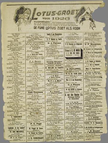 Zierikzeesche Nieuwsbode 1926-01-01