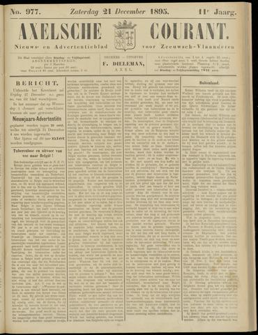 Axelsche Courant 1895-12-21