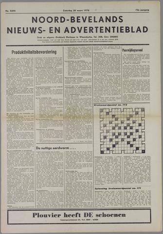 Noord-Bevelands Nieuws- en advertentieblad 1970-03-28
