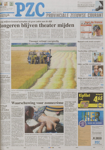 Provinciale Zeeuwse Courant 2005-07-21