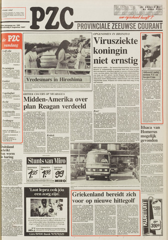 Provinciale Zeeuwse Courant 1987-08-06