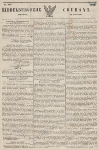 Middelburgsche Courant 1850-11-21