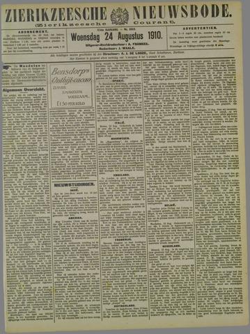 Zierikzeesche Nieuwsbode 1910-08-24