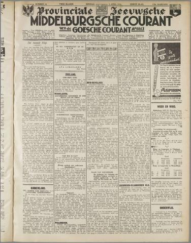 Middelburgsche Courant 1935-04-09