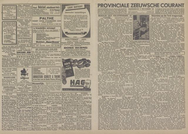 Provinciale Zeeuwse Courant 1942-12-03
