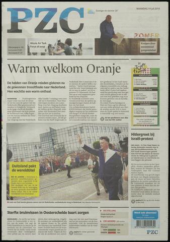 Provinciale Zeeuwse Courant 2014-07-14