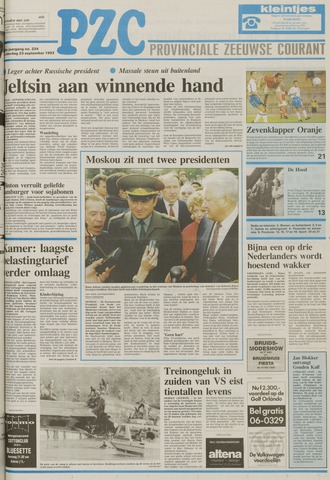 Provinciale Zeeuwse Courant 1993-09-23