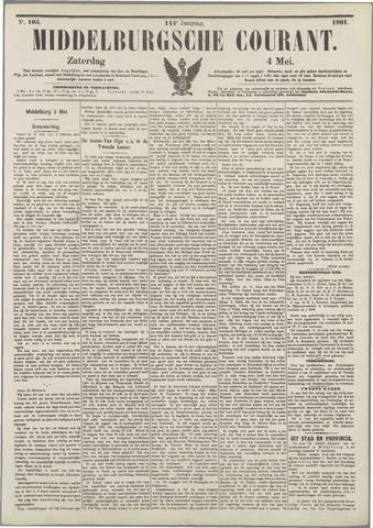 Middelburgsche Courant 1901-05-04