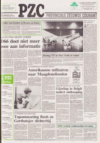 Provinciale Zeeuwse Courant 1989-09-22