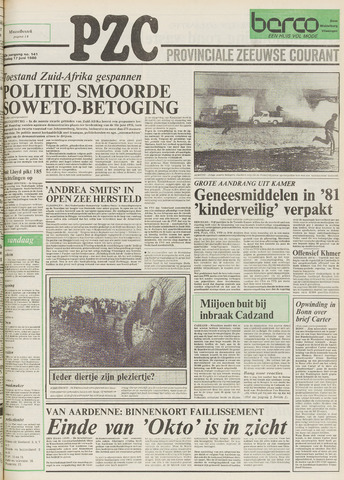 Provinciale Zeeuwse Courant 1980-06-17