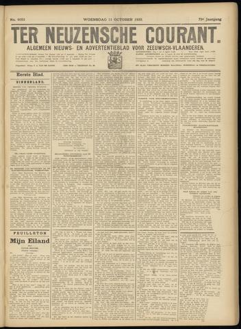 Ter Neuzensche Courant. Algemeen Nieuws- en Advertentieblad voor Zeeuwsch-Vlaanderen / Neuzensche Courant ... (idem) / (Algemeen) nieuws en advertentieblad voor Zeeuwsch-Vlaanderen 1933-10-11