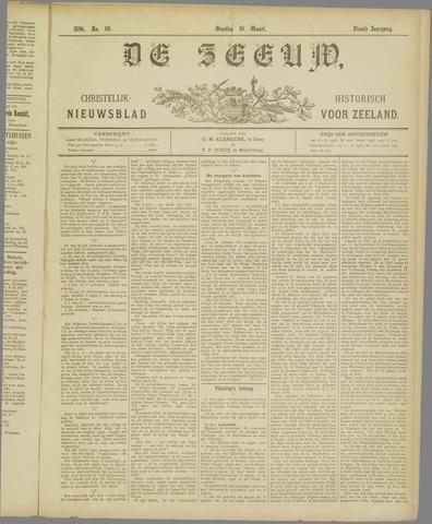 De Zeeuw. Christelijk-historisch nieuwsblad voor Zeeland 1896-03-10