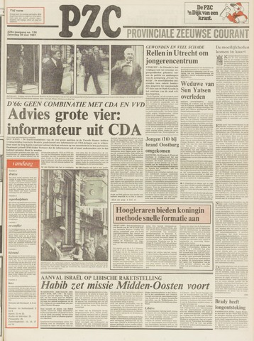 Provinciale Zeeuwse Courant 1981-05-30