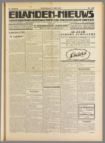 Eilanden-nieuws. Christelijk streekblad op gereformeerde grondslag 1939-05-17